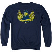 NCIS/GO NAVY - ADULT CREWNECK SWEATSHIRT - NAVY -