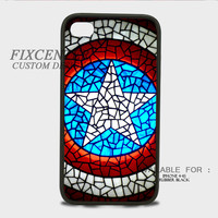 Captain America glitter shield iPhone Rubber Cases for iPhone 4,4S, iPhone 5,5S, iPhone 5C, iPhone 6, iPhone 6 Plus, Samsung Galaxy S3, Samsung Galaxy S4, Samsung Galaxy S5  phone case design