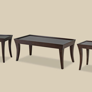 Versaille Sabre Leg Coffee Table Set