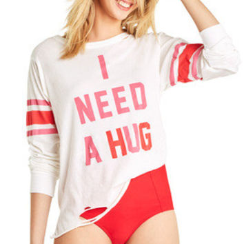 Hug Me Stellar Long Sleeve - Wildfox