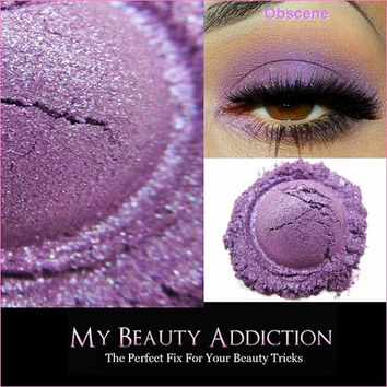 Purple Mineral Eye Shadow-Obscene