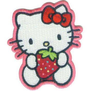 C, Visionary Hello Kitty Patches Strawberry Sweet | Jo-Ann