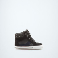 trendy high-top sneaker - Shoes - Baby boy (3-36 months) - Kids - ZARA United States