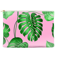Plants on Pink - Pouch