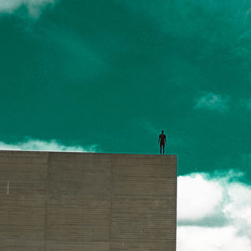 Art and Architecture Photography, Monochromatic Wall Art, Blue Sky and Clouds, Sculpture photography.