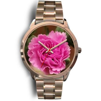 Pink Carnation Watch