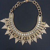 Queen of Nile Statement Necklace