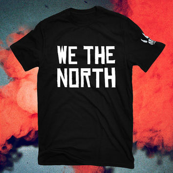 We the north Northern uprising raptors OVO T-shirts