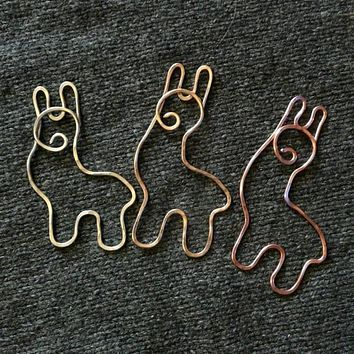 Adorable Alpaca Shawl Pin