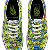 Vans Toy Story Aliens Trainers