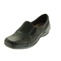 Naturalizer Womens Aspect Leather Solid Loafers
