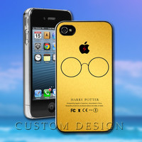 Hard Case Design - Harry Potter Gold Texture - Custom Print for iPhone 4/4s, iPhone 5, Samsung S3 9300 and Samsung S4 9500