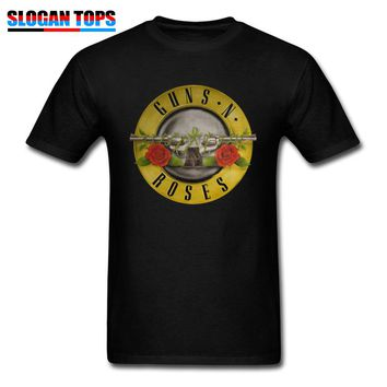 Guns N Roses Tshirt Mans T shirt Men Kill Your Idols T-shirts Rock Music Camisetas Hombre Mens Punk Style Clothes Cotton Fabric