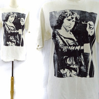 Vintage 90s JIM MORRISON The Doors T Shirt Sz L