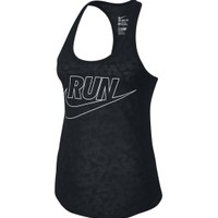 Nike Women's Cheetah Running Tank Top
