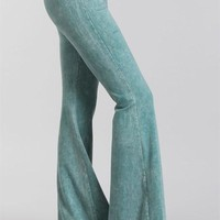 Mineral Wash Bell Bottoms Light Colors