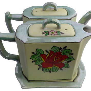 Lusterware Coffee & Tea Set, S/3