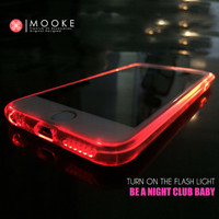 Mooke Star Series Shining Cell Phone Cases For iPhone 6 6s 6 plus 6s plus Bling Bling Mobile Phone Case TPU+PC Case Back Cover