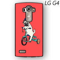 Pug Bicycle For LG G3/G4 Phone case ZG