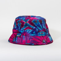 Digi Tie-Dye Bucket Hat in Cotton Candy