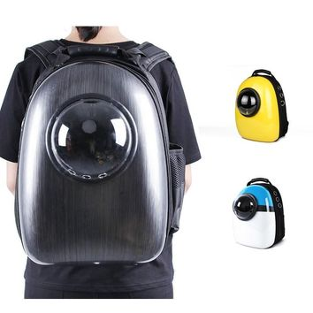 Outdoor Cat Dog Bag Space Capsule Pet Cat Dog Backpack  for Kitty Puppy Small Cat Dog Carrier Transport Travel Bag