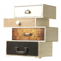 Four Drawer Storage Box