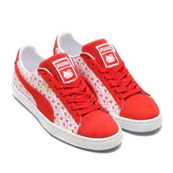 spbest PUMA SUEDE CLASSIC X HELLO KITTY BRIGHT RED-BR