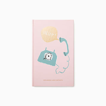 hello address book | Kate Spade New York