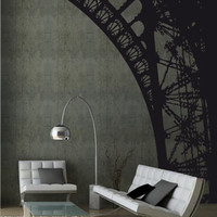 Eiffel Tower Arch Wall Sticker