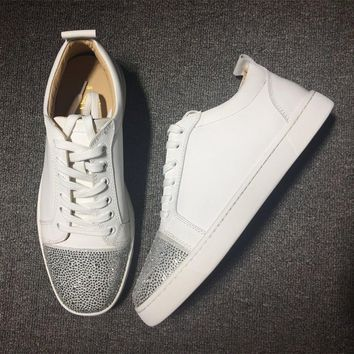 Cl Christian Louboutin Low Style #2018 Sneakers Fashion Shoes