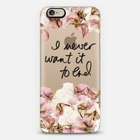 Never Ending Sweet Peas iPhone 6 case by 3 Red Threads | Casetify