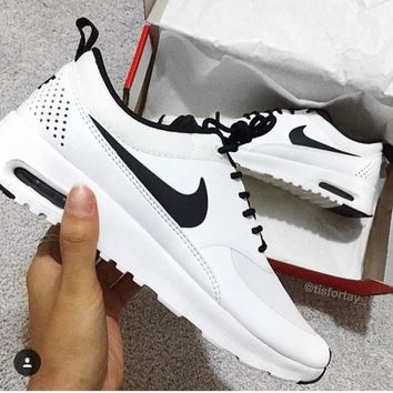 Copy of Nike Air Max Thea 90 87 White Claiss Casual Sports Shoes