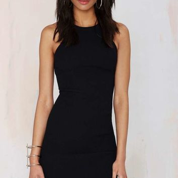 Nasty Gal Hold Tight Cutaway Dress