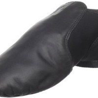 Dance Class Black Leather Jazz Shoe GB100