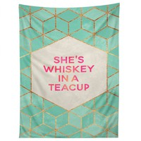 Elisabeth Fredriksson Whiskey In A Teacup Tapestry