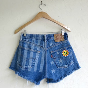 "Levi's ""Stars & Stripes"" Shorts"