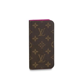 Products by Louis Vuitton: IPHONE X FOLIO