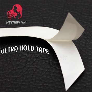 Free Shipping 36pc/lot White Ultra Hold Tape Strong Double Tape for Toupees Lace Wigs Hair Tape