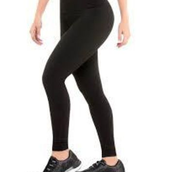 CYSM 901 Ultra Compression and Abdomen Control Fit Leggings Black