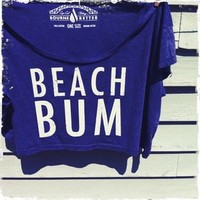 Bourne Better — Beach Bum Crop Top / American Blue