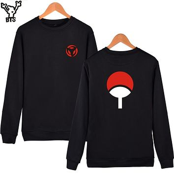 Naruto Sasauke ninja BTS  Classic Anime Capless Hoodies And Sweatshirts For Couples Fashion Winte Hoodies Men Uchiha Syaringan Funny Clothes AT_81_8