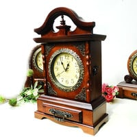 Vintage Clock Home Accessory Box [6282971334]