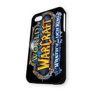 Warth of The Ligh King Game World of Warcraft Logo iPhone 5C Case