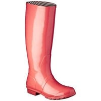 Women's Classic Knee High Rain Boot - Coral