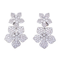 A Pair of Night and Day Van Cleef & Arpels Earrings