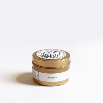 Lavender Gold Travel Candle