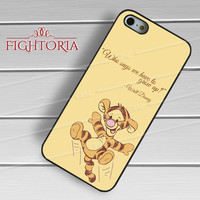 Walt Disney tigger winnie the pooh quotes -EnLs for iPhone 6S case, iPhone 5s case, iPhone 6 case, iPhone 4S, Samsung S6 Edge