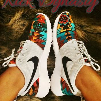 Nike Tribal Roshe Run Custom Sneakers