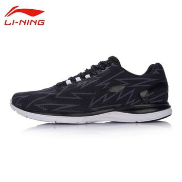 Li-Ning Men's Light Breathable Running Shoes Irregular Pattern Design Cool Running Sneakers LINING Cushion Sports Shoes ARBM021