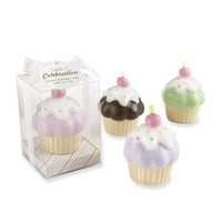 Kate Aspen Set of 4 Sweet Celebration Cupcake Candles